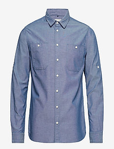 Shirt - denimskjorter - navy