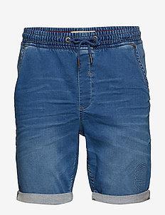 Denim Jogg shorts - DENIM LIGHT BLUE