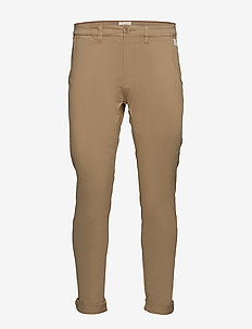 Pants - casual - sand brown