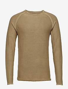 Pullover - SAND BROWN