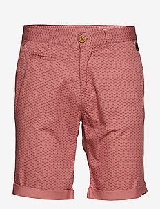 Shorts - DUSTY ROSE RED