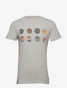 Tee - short-sleeved t-shirts - stone mix