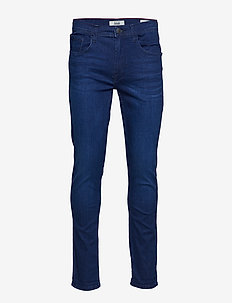 Jeans w. multiflex - NOOS - DENIM DARK BLUE