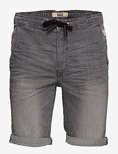 Denim shorts - DENIM GREY