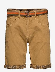Shorts - SAND BROWN