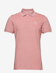 BHNATE poloshirt - MINERAL RED