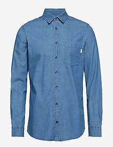 Shirt - DENIM LIGHT BLUE