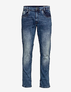 Jeans - NOOS Blizzard fit - Zip fly - DENIM MIDDLE BLUE