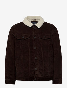 Outerwear - denimjakker - dark earth brown