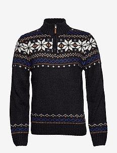 Pullover - DARK NAVY BLUE
