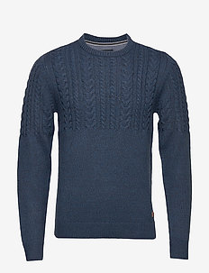 Pullover - DARK NAVY BLUE