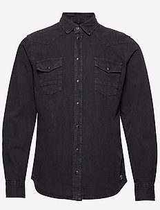 Shirt - denimskjorter - black