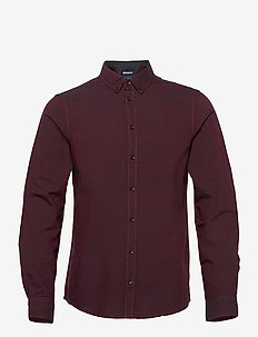 BHNAIL shirt Slim Fit - basic skjorter - tawny port