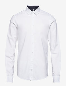 BHNAIL shirt Slim Fit - basic skjorter - white