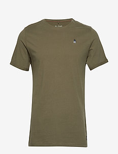 Tee - OLIVE NIGHT GREEN