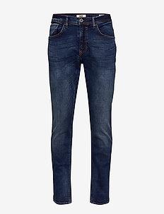 Jeans - Clean - DENIM MIDDLE BLUE