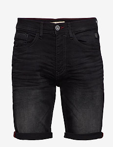 Denim shorts - clean - denim shorts - denim black