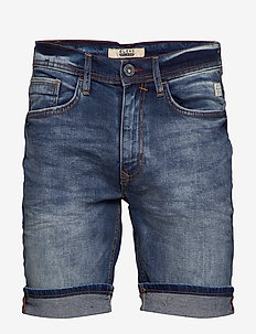 Denim shorts - clean - DENIM MIDDLE BLUE