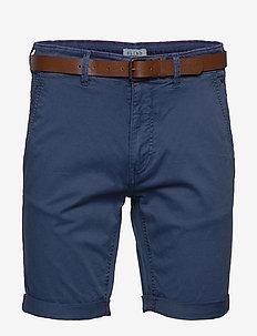 Shorts - casual shorts - denim blue