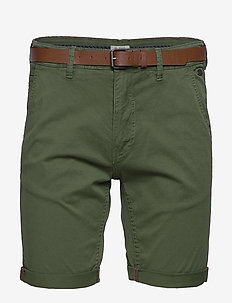 Shorts - casual shorts - forest green