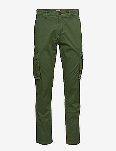 Pants - cargo pants - forest green