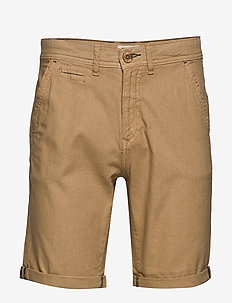 Shorts - short chino - sand brown