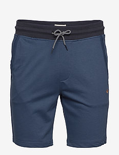 Sweatshorts - casual shorts - denim blue