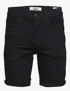 Denim multiflex shorts - DENIM BLACK