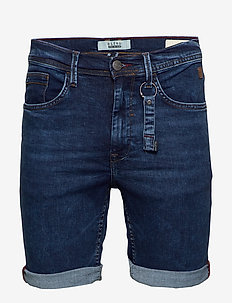 Denim multiflex shorts - denim shorts - denim middle blue