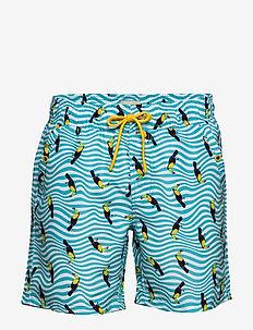 Swimwear - swim shorts - aqua blue