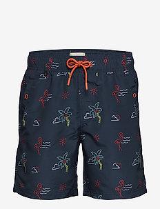 Swimwear - swim shorts - navy