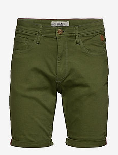 Denim shorts multiflex - FOREST GREEN