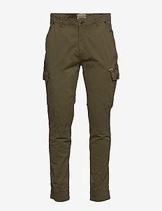 Pants - cargo pants - martini olive