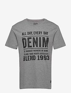 Tee - t-shirts à manches courtes - stone mix