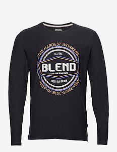 Tee - t-shirts à manches longues - dark navy