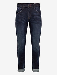 Jeans - Clean - slim jeans - denim dark blue