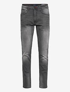 Jeans - Clean - slim jeans - denim grey