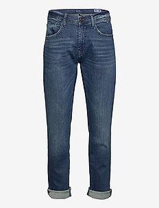 Jeans - Clean - slim jeans - denim middle blue