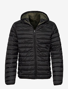 Outerwear - padded jackets - black