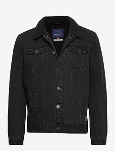 Outerwear - kurtki dżinsowe - denim black