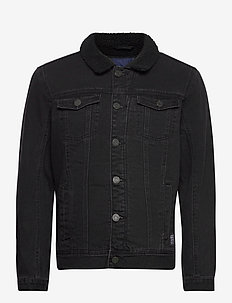 Outerwear - denimjakker - denim black