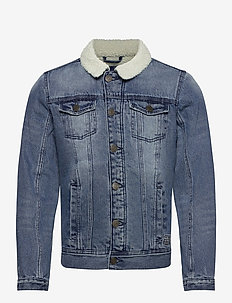 Outerwear - denimjakker - denim middle blue