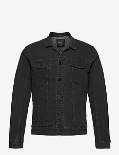 Outerwear - NOOS - farkkutakit - denim black