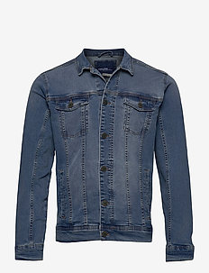 Outerwear - NOOS - denimjakker - denim middle blue