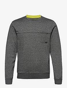 Sweatshirt - overdeler - charcoal mix