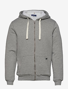 Sweatshirt - hoodies - stone mix