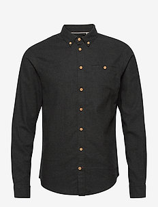 Shirt - basic skjorter - charcoal mix
