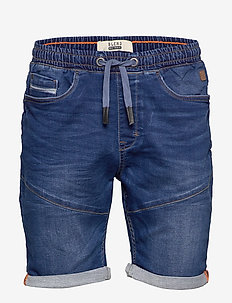Shorts Jogg - denim shorts - denim middle blue