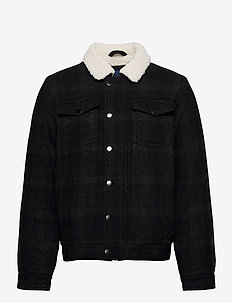 Outerwear - wool jackets - dark navy