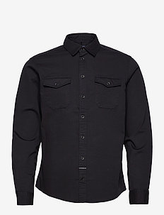 Shirt - basic skjorter - dark navy